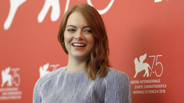 Emma Stone at the photo call for The Favourite (Kirsty WigglesworthAPPA)