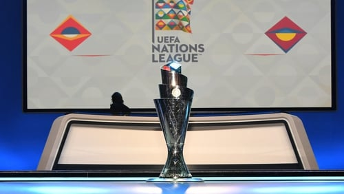 The 'coveted' Nations League trophy
