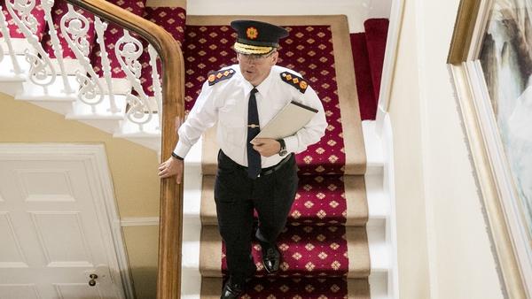 New Garda Commissioner Drew Harris