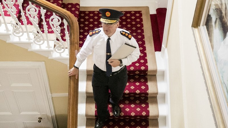 New Garda Commissioner Drew Harris