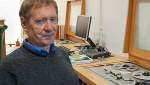 Rolling Wave presenter Peter Browne (Pic: John Bates)