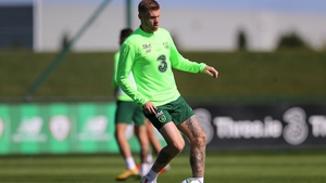 James McClean hit out after the game