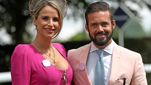 """Vogue Williams and Spencer Matthews - """"We feel truly blessed"""" Photo: Press Association"""