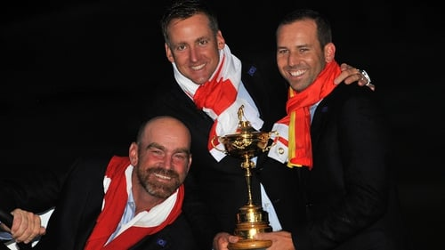 Ian Poulter and Sergio Garcia got the nod from Thomas Bjorn