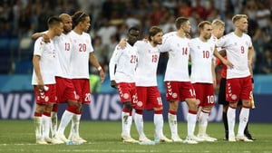 Denmark reached the last 16 at the World Cup