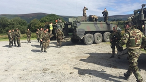 The 138 troops will be deployed for six months
