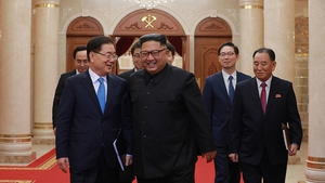 Kim Jong-un met with high-level South Korean delegation to agree the third inter-Korean summit this year