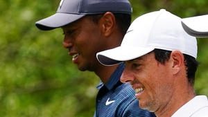 Woods and McIlroy playing together