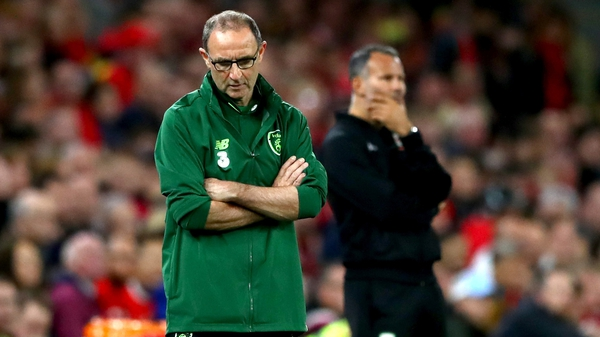 Martin O'Neill (l) will look to use the Poland friendly to get over the defeat in Wales
