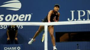 Naomi Osaka had a straight-sets win over Madison Keys