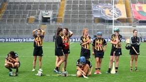 Kilkenny were pipped by a point by Cork in last year's All-Ireland camogie final
