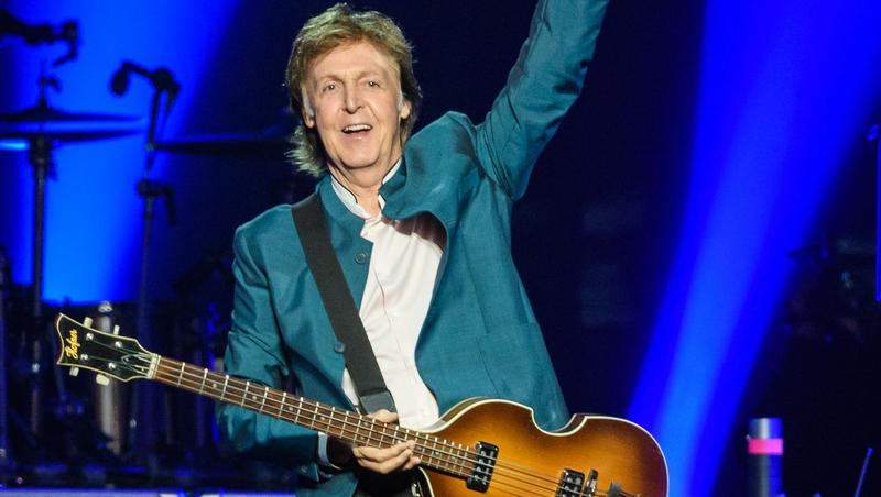 Paul McCartney Performing Live Set In New York City