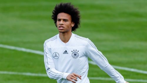 66b12174c36041 Leroy Sane has left the Germany team hotel after a discussion with Joachim  Low