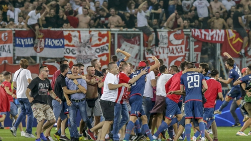 UEFA ban Red Star away fans from Champions League games