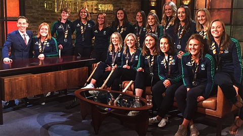 Irish Senior Women's Hockey Team | The Late Late Show
