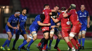 A second half surge from the hosts saw Leinster beaten in Wales