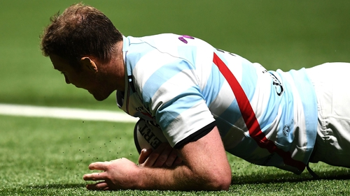 Donnacha Ryan scored an early try for Racing 92