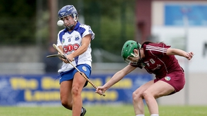 Niamh Rockett in action against Galway