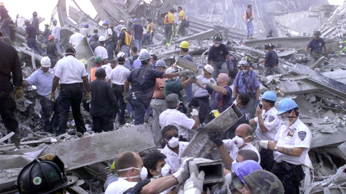 Amid the destruction, an improvised team of volunteers, firefighters, police and detection dogs found 21 people alive on the first day, but none thereafter.