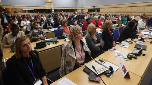Almost 50 countries are represented by over 200 delegates