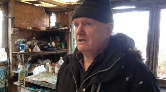 Gearóid Mac Suibhne, mac le Ted Mac Suibhne a bhíodh ina Choimeádaí Teach Solais i dTeach Solais an Fhóid Dhubh.