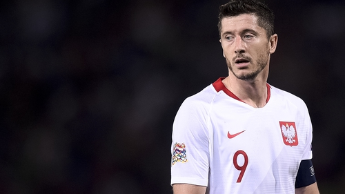 Robert Lewandowski could win his 100th senior cap at the Stadion Miejski in Wroclaw