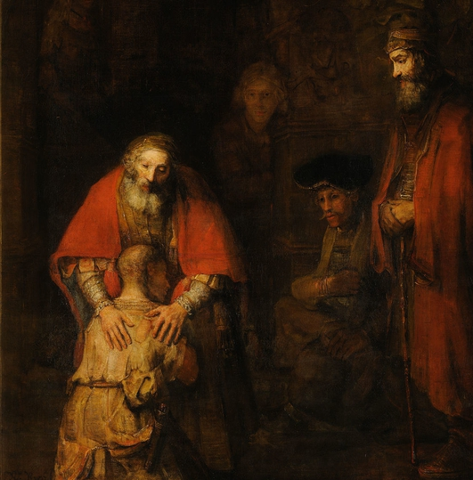 "Loves - the Rembrandt painting ""The Return of the Prodigal Son"""