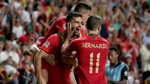 Portugal are in the Republic of Ireland's World Cup qualifying group