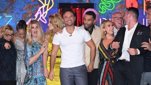 Ryan Thomas was congratulated by fellow contestants when he emerged from the house