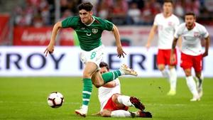 Callum O'Dowda turned in a fine display for Ireland