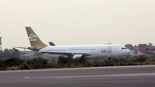 A Libyan Airlines flight bound for Tripoli from Alexandria, Egypt, was diverted to Misrata