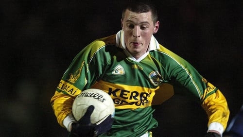 Kieran Donaghy made his Kerry debut in 2005 after featuring on the show