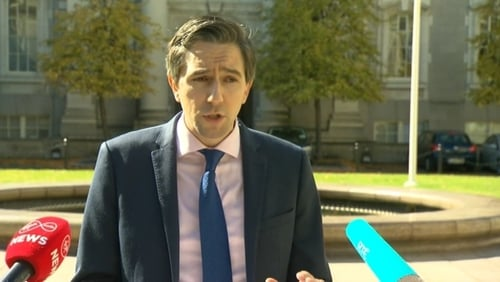 Simon Harris said the agreement would help 'transform' the health service