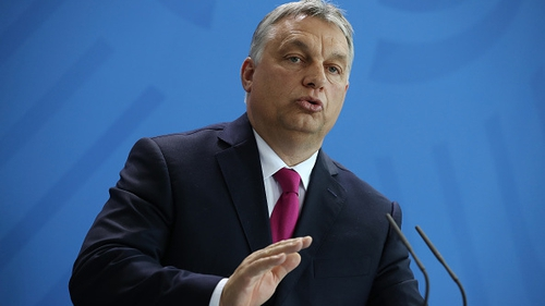 Hungarian PM Viktor Orban said he would not bow to the EU's 'blackmail'