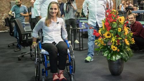 Kristina Vogel was paralysed following a training crash