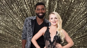 Evanna Lynch and her professional dance partner Keo Motsepe Photo credit: Dancing With the Stars/ABC