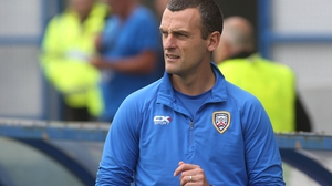 Celtic will provide the opposition for Kearney's first match in charge