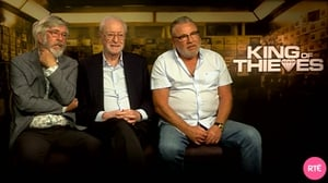 Tom Courtenay, Michael Caine and Ray Winstone play members of the Hatton Garden gang, who plan the crime of the century in King of Thieves