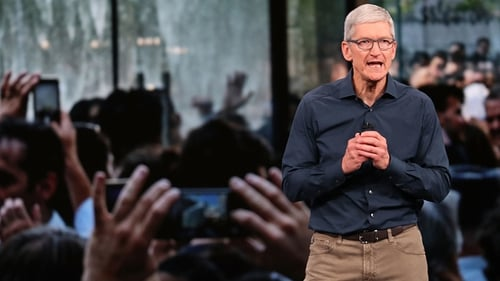 Apple CEO Tim Cook revealed the company was about to ship its 2 billionth iOS device