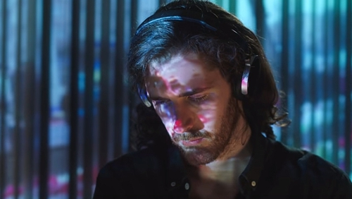 Hozier in the video for Nina Cried Power