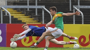 Paul Broderick finds the net in this year's Leinster championship