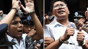 Wa Lone and Kyaw Soe Oo were arrested in December 2017 and later jailed