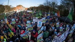 The introduction of domestic water charges led to huge demonstrations