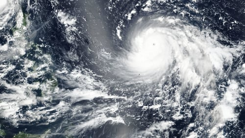 Authorities say some ten million in the Philippines are in Typhoon Mangkhut's path