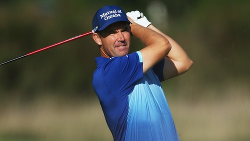 Padraig Harrington will miss the month of January, recovering from his wrist injury