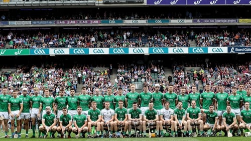 The Limerick panel for the All-Ireland final