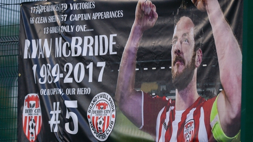 Ryan McBride died in March 2017