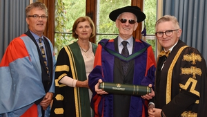 Jim Dennehy received an honorary doctorate from University College Cork