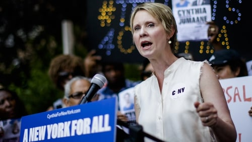 Cynthia Nixon made a bid to become Governor of New York  state