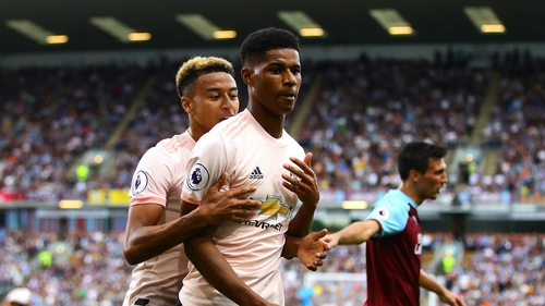 Marcus Rashford will serve a three-game ban